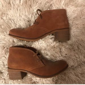 ✨brand new ✨ soft moc ankle boots size 9